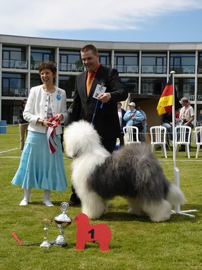 Euro-OES-Show, Denmark 2005, with the proud winner